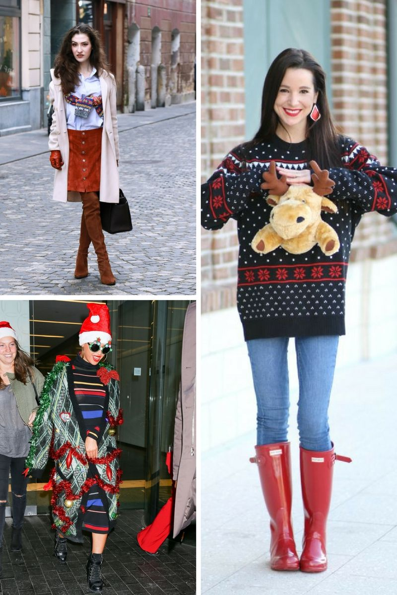 Ugly Christmas Sweaters 2019.Best Ideas How To Wear Ugly Christmas Sweater 2019