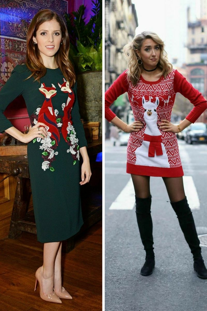 How to wear christmas sweater