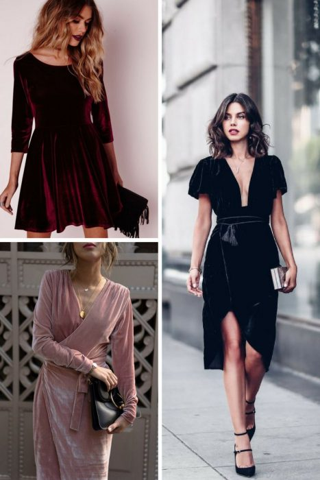 Velvet Dresses For Holiday Parties 2020
