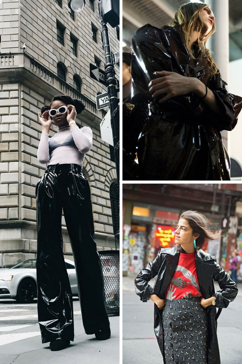 Sexy And Sophisticated Vinyl Fashion Must-Haves 2019