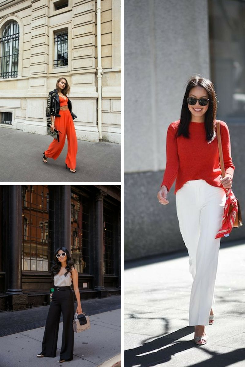 Wide Leg Pants Are Popular Again In 2018
