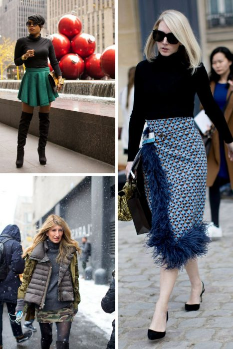 How To Wear Skirts This Winter 2019