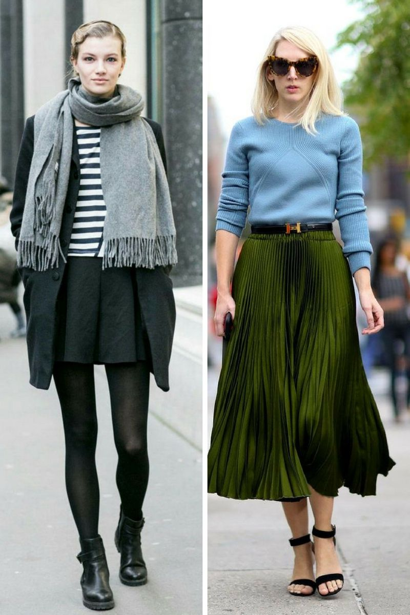 How To Wear Skirts This Winter 2018 | OnlyWardrobe.com