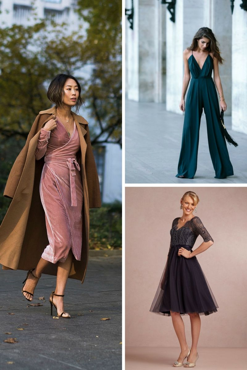 Best Winter 2018 Wedding Guest Outfit Ideas For Women | OnlyWardrobe.com