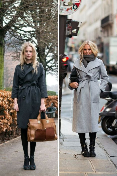 How To Wear Wrap Coats 2019
