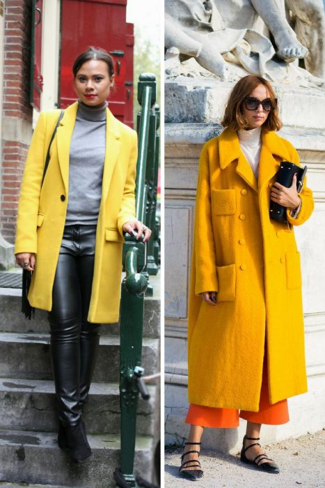 Yellow Coats Add Brightness To Your Clothes 2019