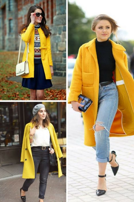Yellow Coats Add Brightness To Your Clothes 2020