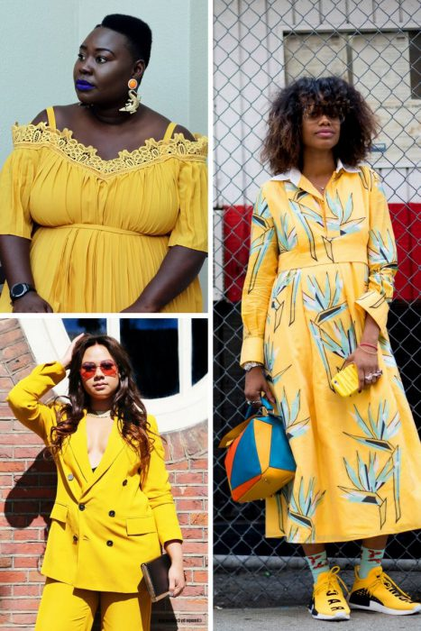 Yellow Color Outfits 2018 (10)
