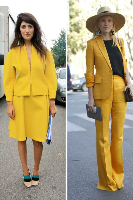 Yellow Color Outfits 2018 (13)