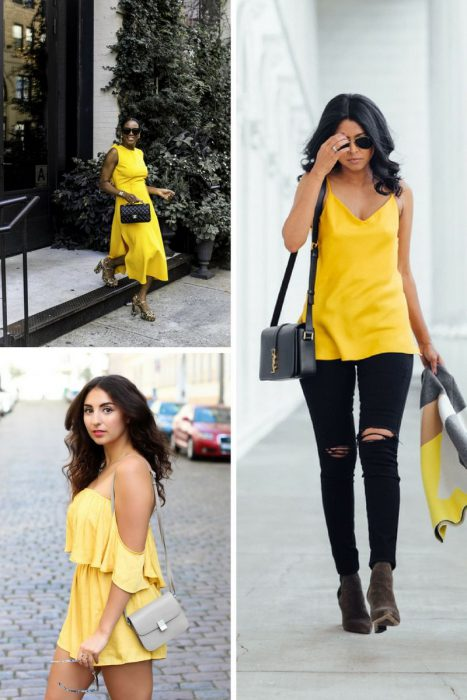Yellow Color Outfits 2018 (14)