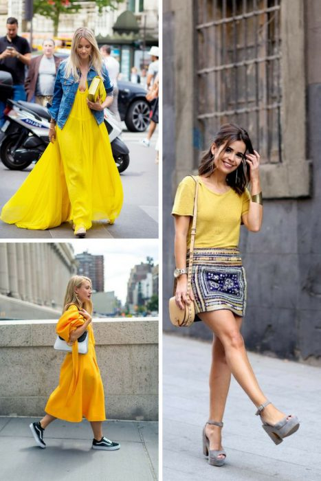 Yellow Color Outfits 2018 (2)