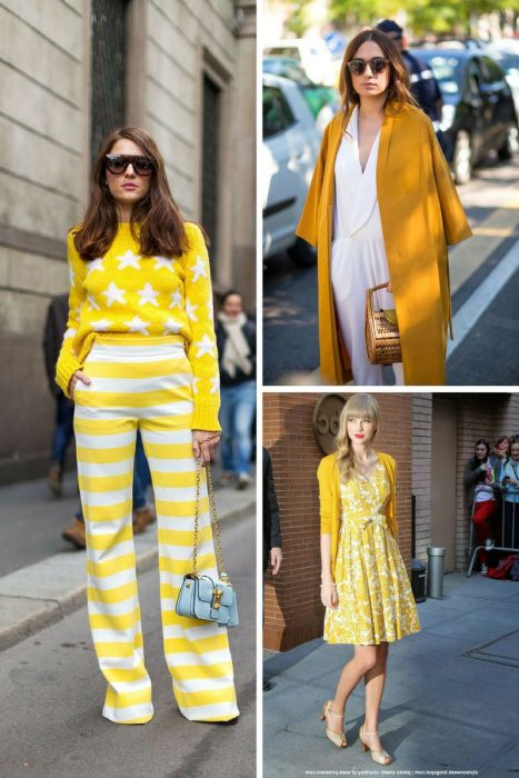 Yellow Color Outfits 2018 (3)