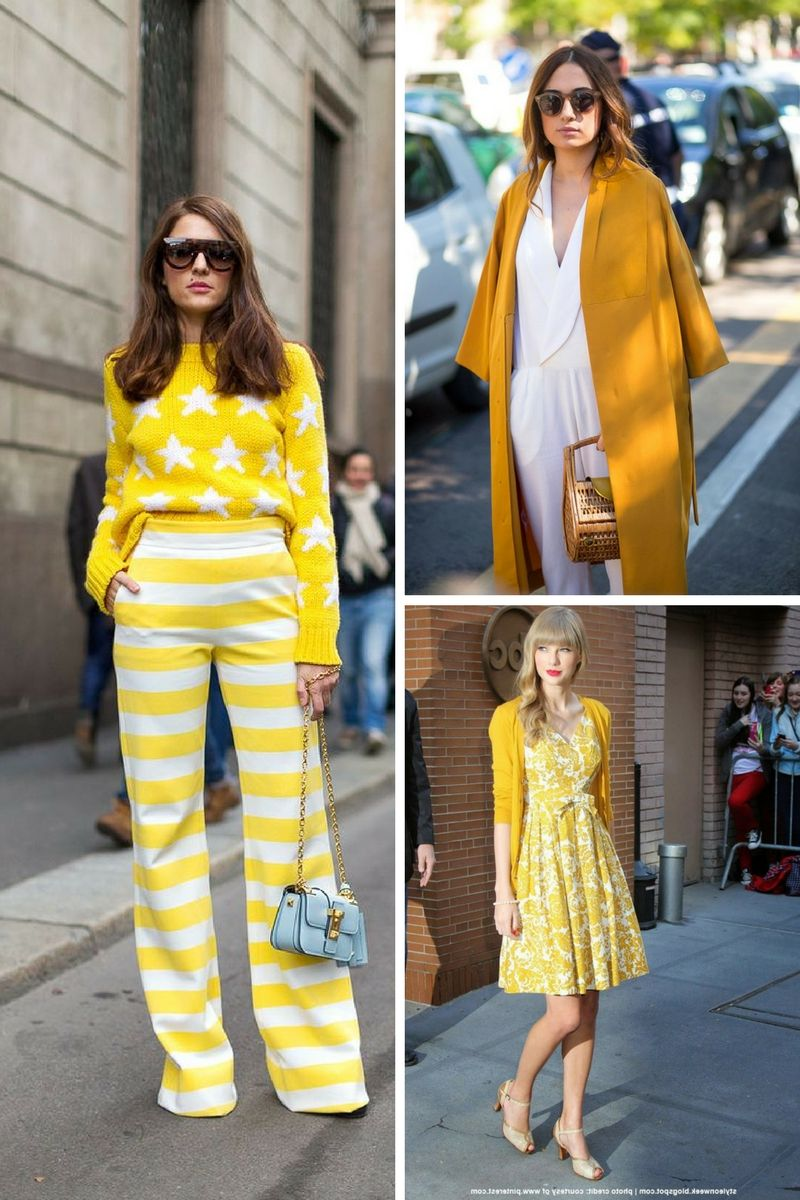 1fbde4e6d332c3 How To Wear Yellow This Spring 2019 - OnlyWardrobe.com