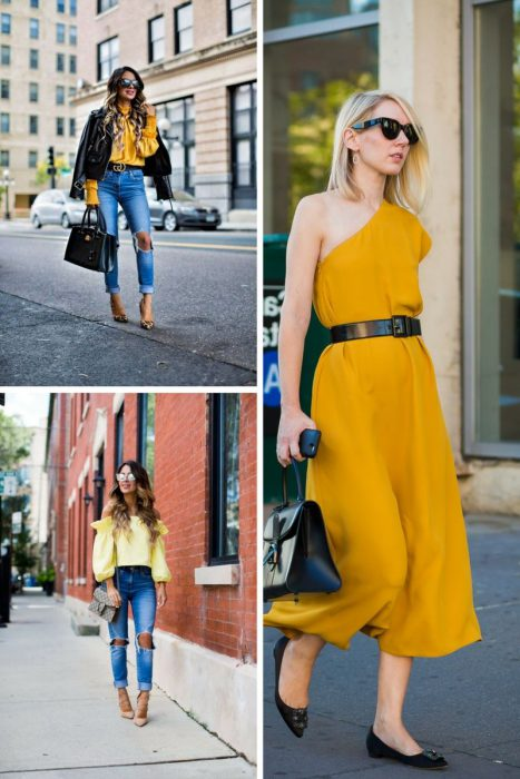 Yellow Color Outfits 2018 (6)