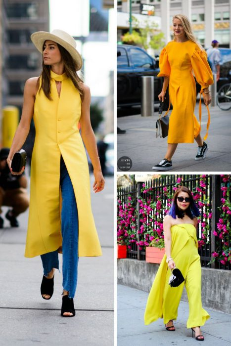 Yellow Color Outfits 2018 (7)