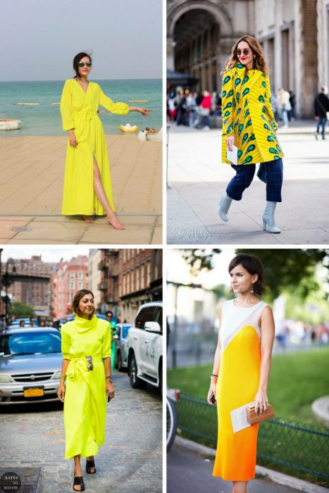 Yellow Color Outfits 2018 (8)