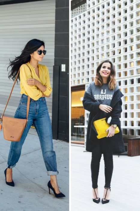 Yellow Color Outfits 2018 (9)