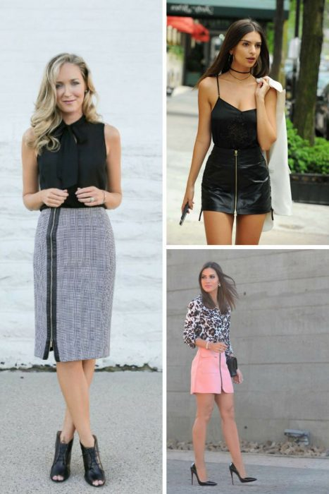 How To Wear Zip Skirts 2019