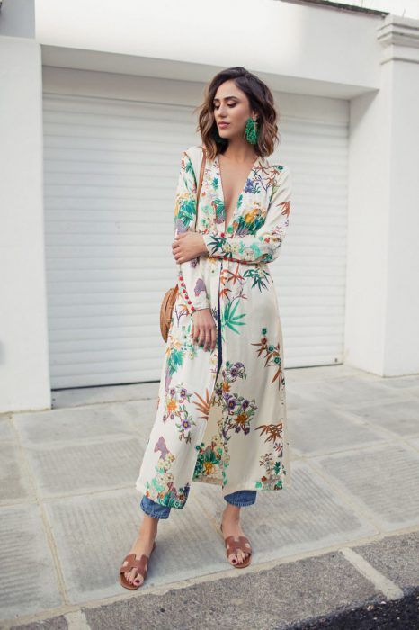 Best Kimono And Jeans Outfit Ideas For Women 2018 (1)