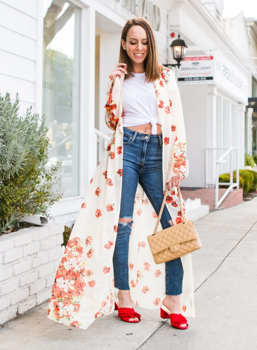 Best Kimono And Jeans Outfit Ideas For Women 2018 (18)