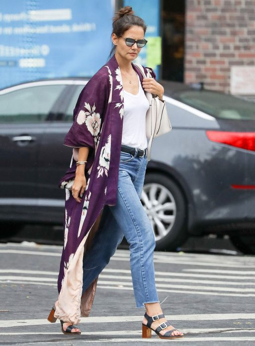 Best Kimono And Jeans Outfit Ideas For Women 2018 (2)