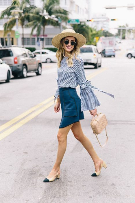 22 Cool Ways To Style A Straw Hat For Hot Days 2019