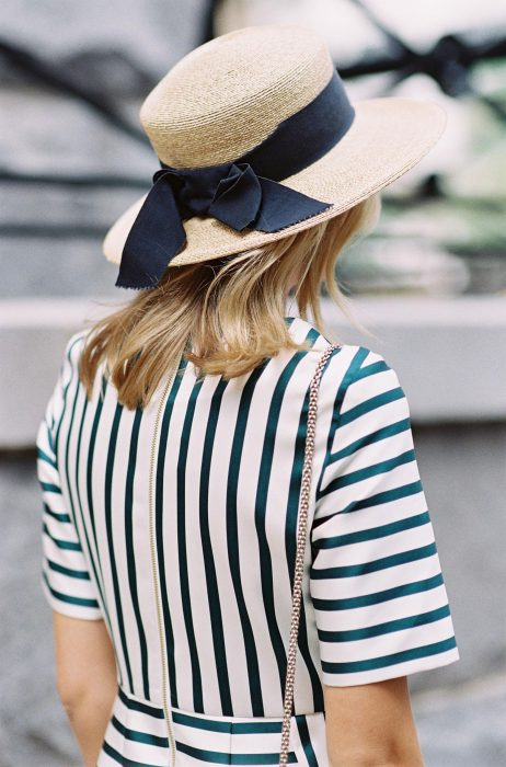 Straw Hats Outfit Ideas For Women 2018 Street Style (19)
