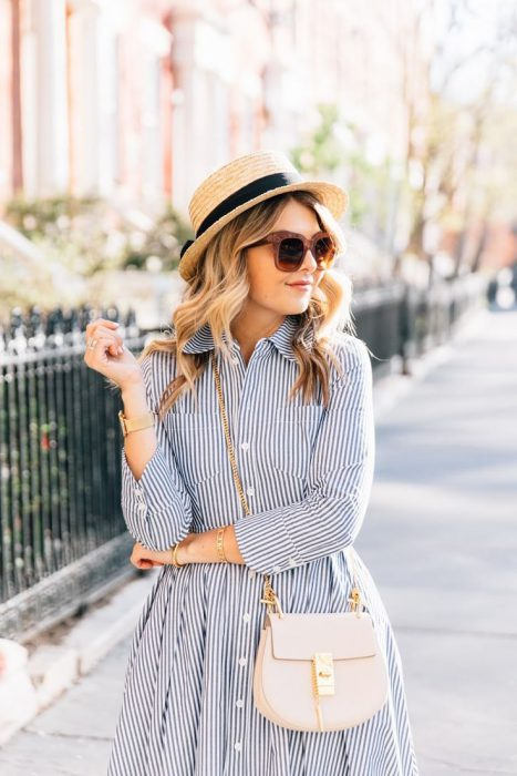 22 Cool Ways To Style A Straw Hat For Hot Days 2020