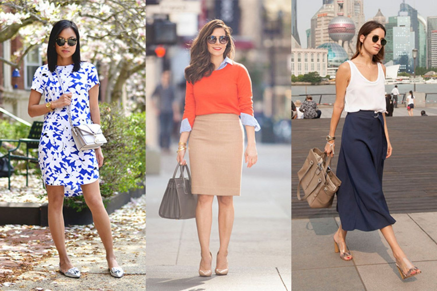 b5dc8382c54 Street Style Guide to Summer Work Attire For Women 2019 ...