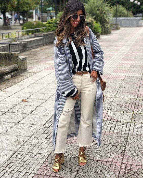 White Jeans Outfit Ideas For Women 2018 Street Style (14)