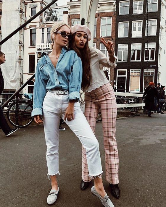 White Jeans Outfit Ideas For Women 2018 Street Style (15)