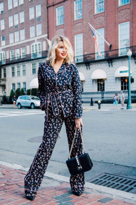 Don't Miss Out The Pajama Trend For Women 2019