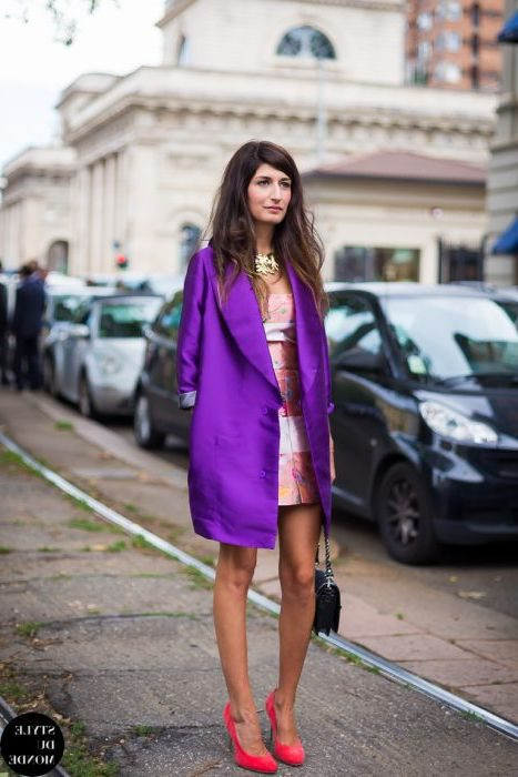 How To Wear Purple Color Clothing And Accessories 2019