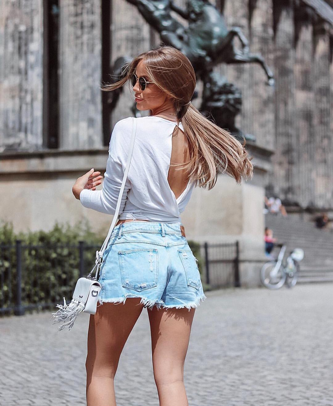 Can You Wear White Open Back Wrap Tops This Summer 2020