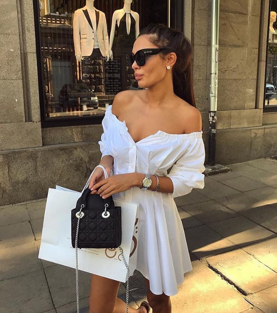 Can I Wear Off Shoulder White Shirtdresses In Italy This Summer 2020