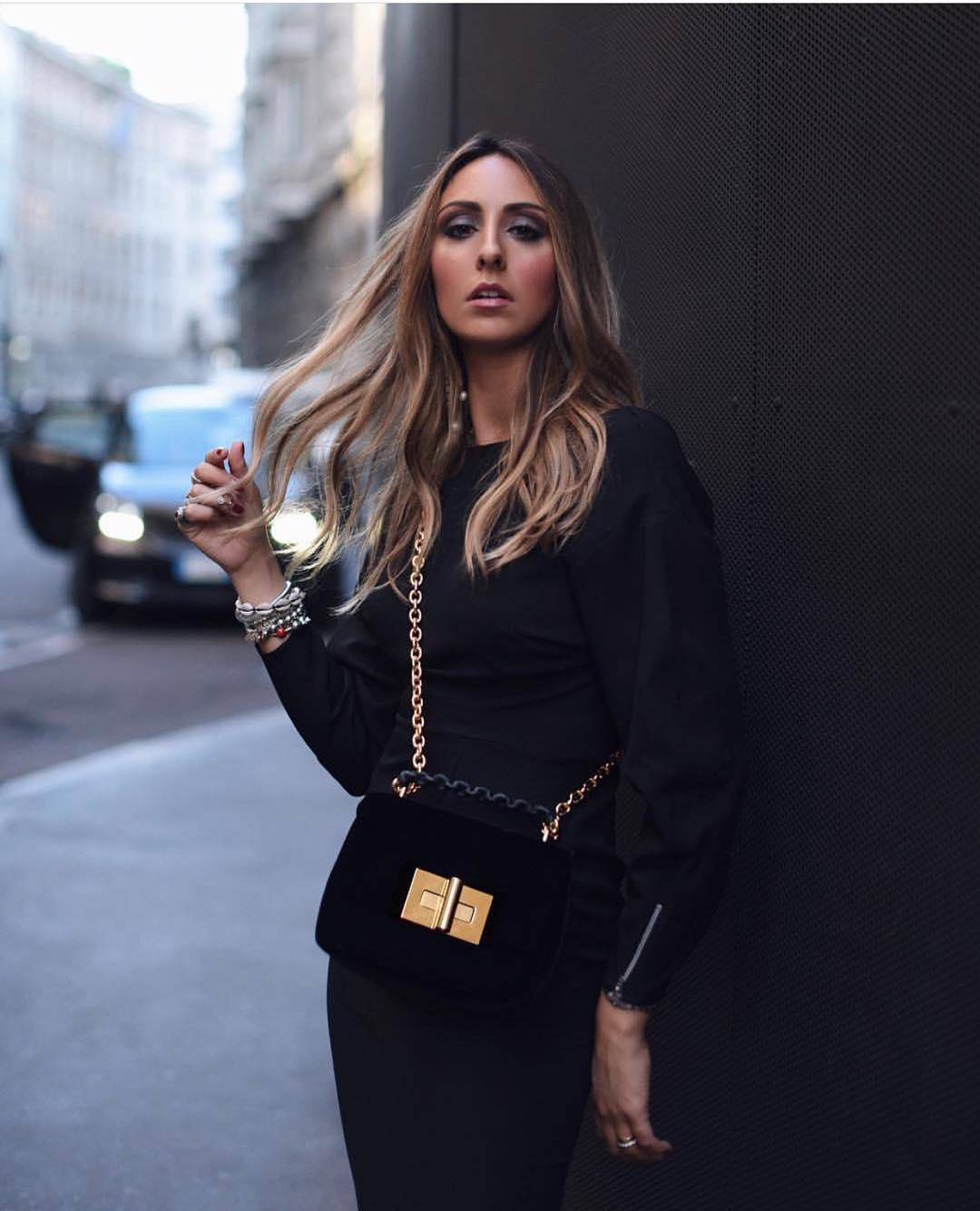 How To Wear Black Puff Sleeve Dress This Spring 2020