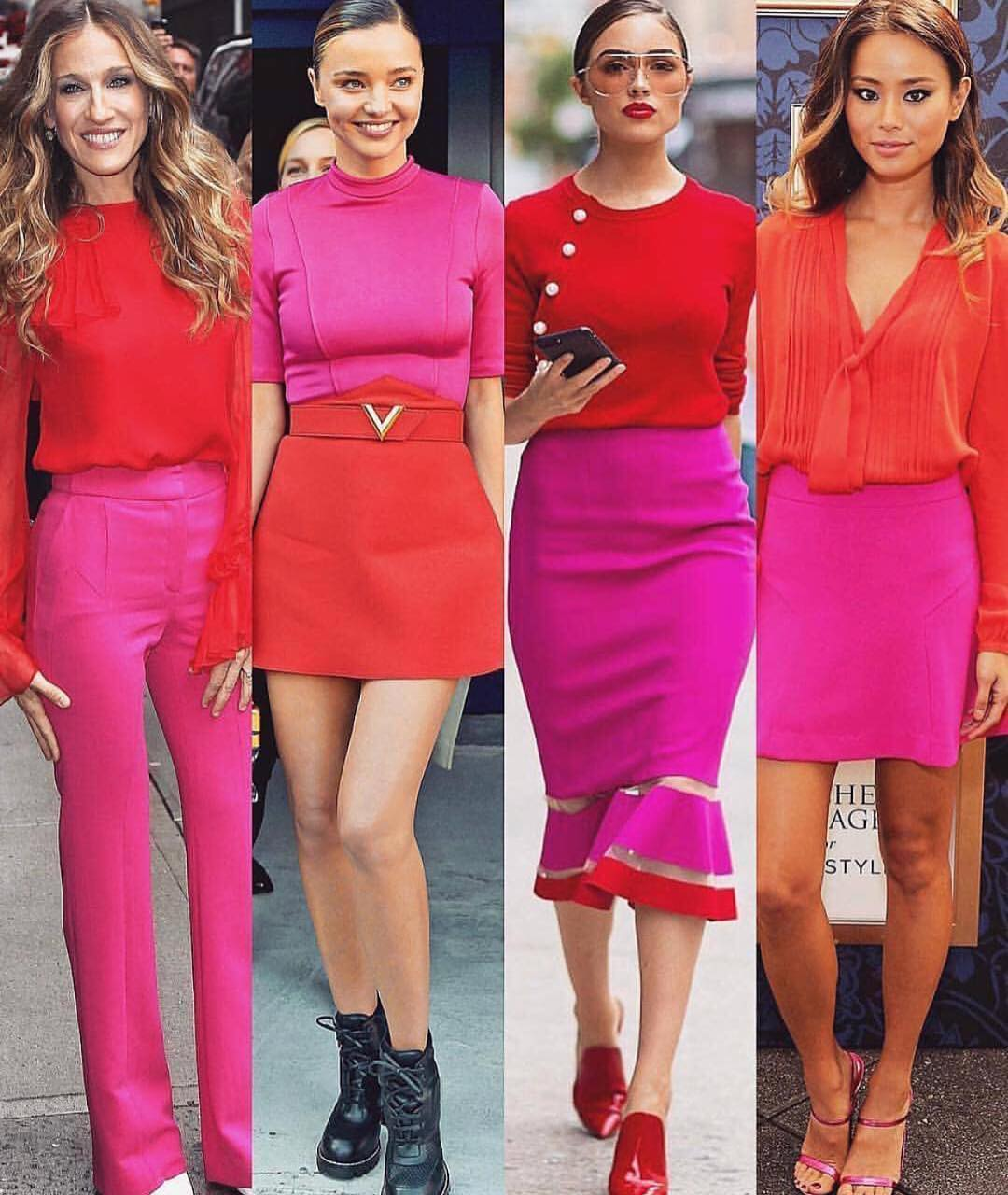 How To Wear Pink And Red This Summer 2019