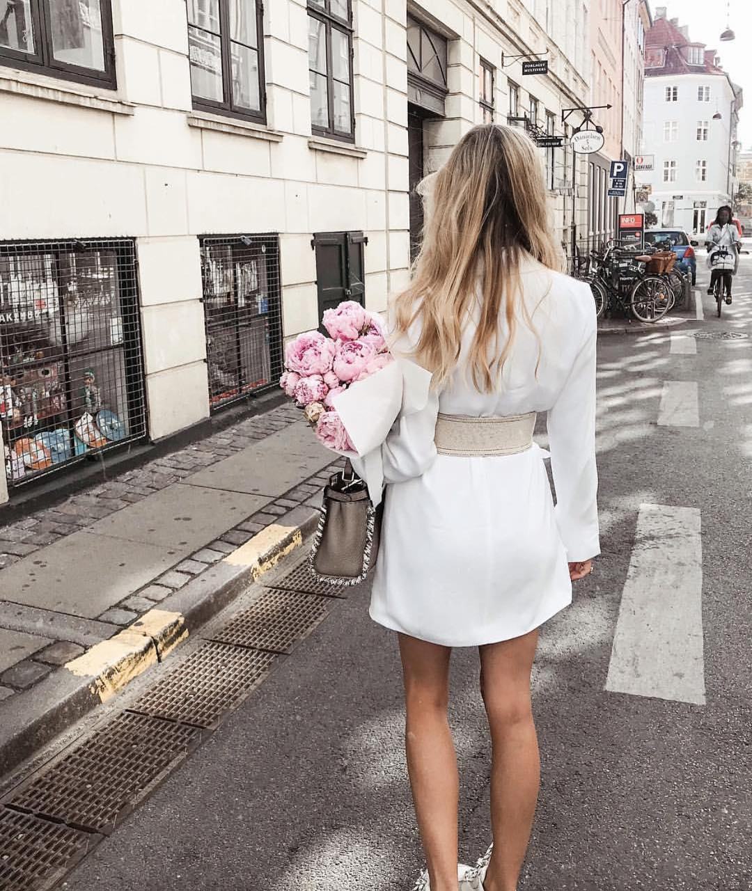Classic White Belted ShirtDress For Summer 2019