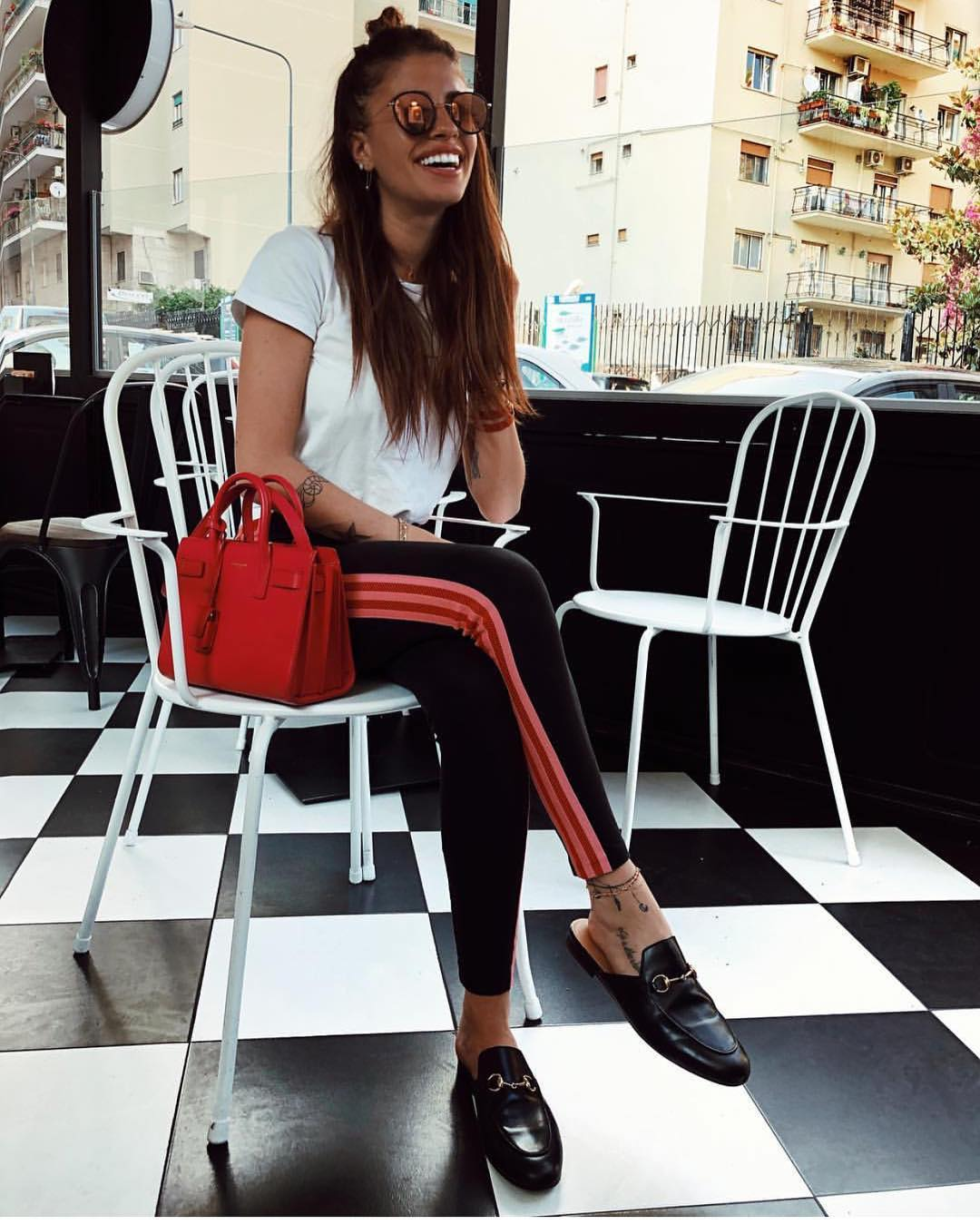 How To Wear Side Stripe Black Skinny Joggers This Summer 2020