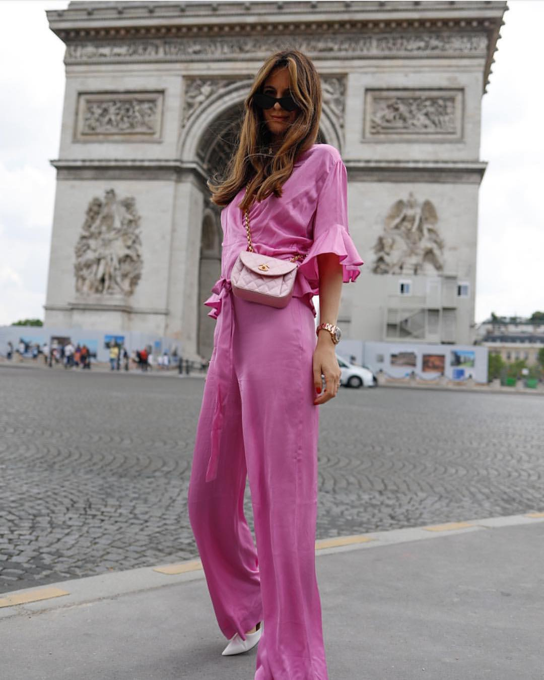 Light Pink Jumpsuit For Parisian Chic Ladies 2020