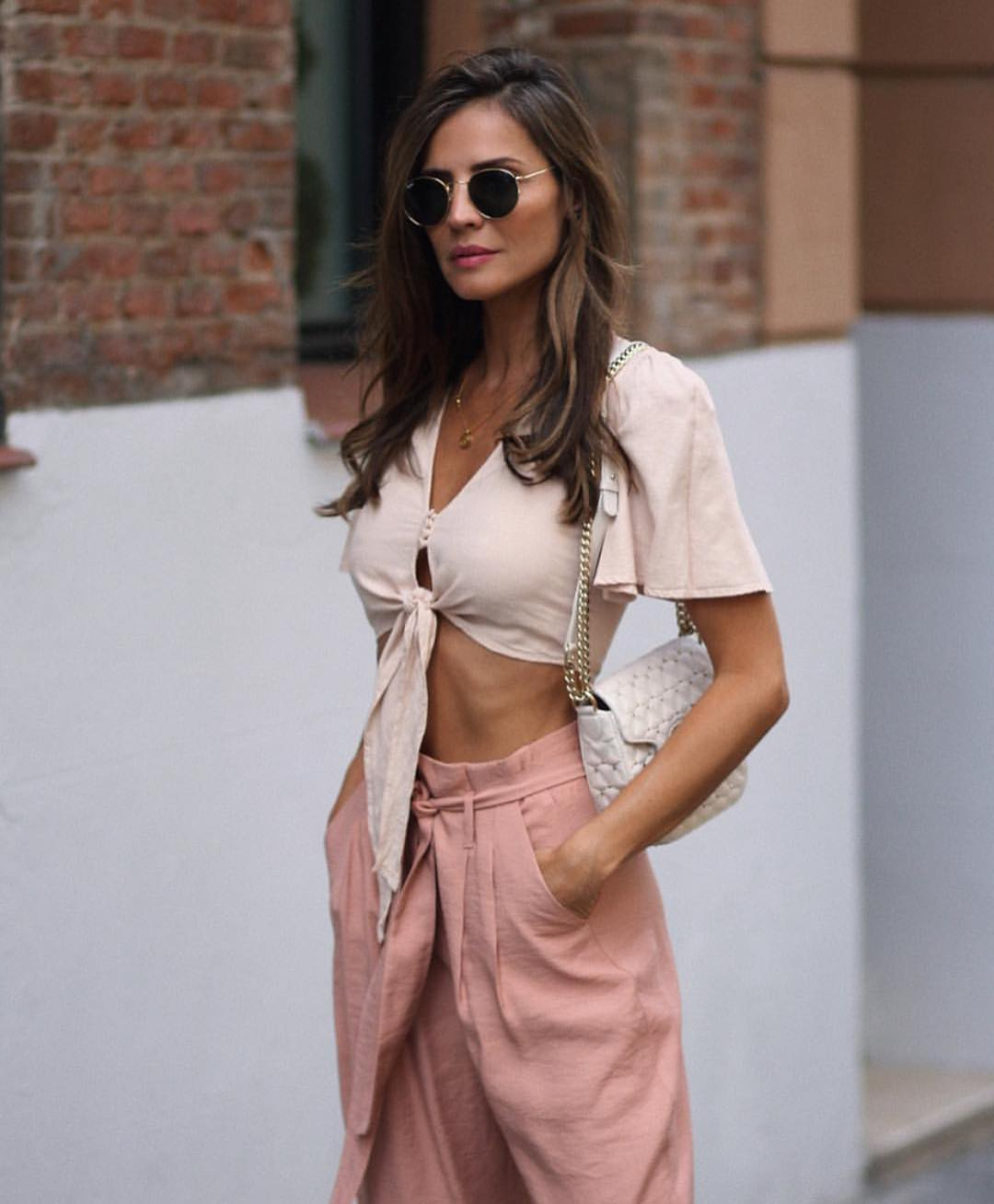 Can I Wear Blush Linen Gathered Pants This Summer 2020