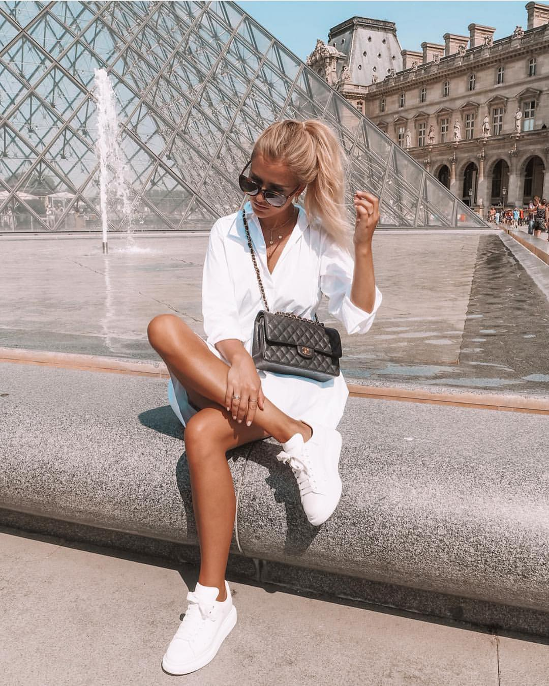 All White Summer Look For Paris 2020