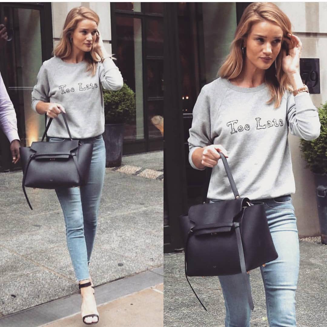 Casual Outfit Idea In Grey Color For Spring 2019