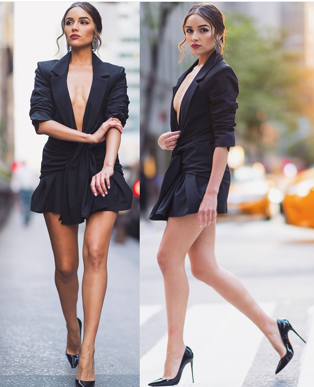 Black Blazer Dress For Summer Cocktail Events 2019