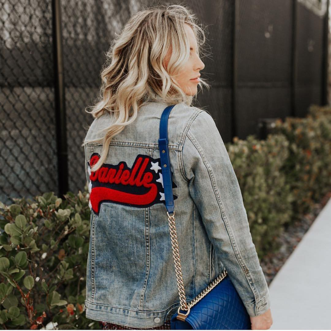 Wash Denim Jacket With A Back Print For Summer 2020