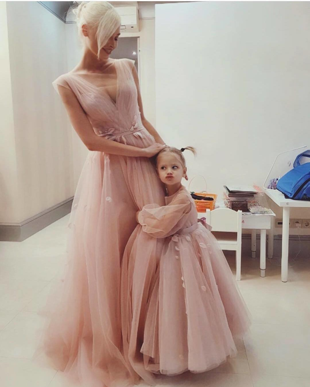 Sleeveless Blush Maxi Gown For Summer Parties 2020