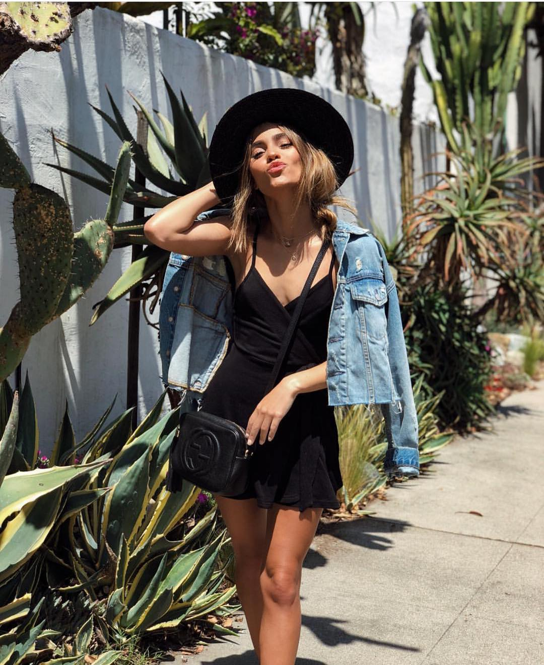 How To Wear Wrap LBD With Denim Jacket During This Summer 2020