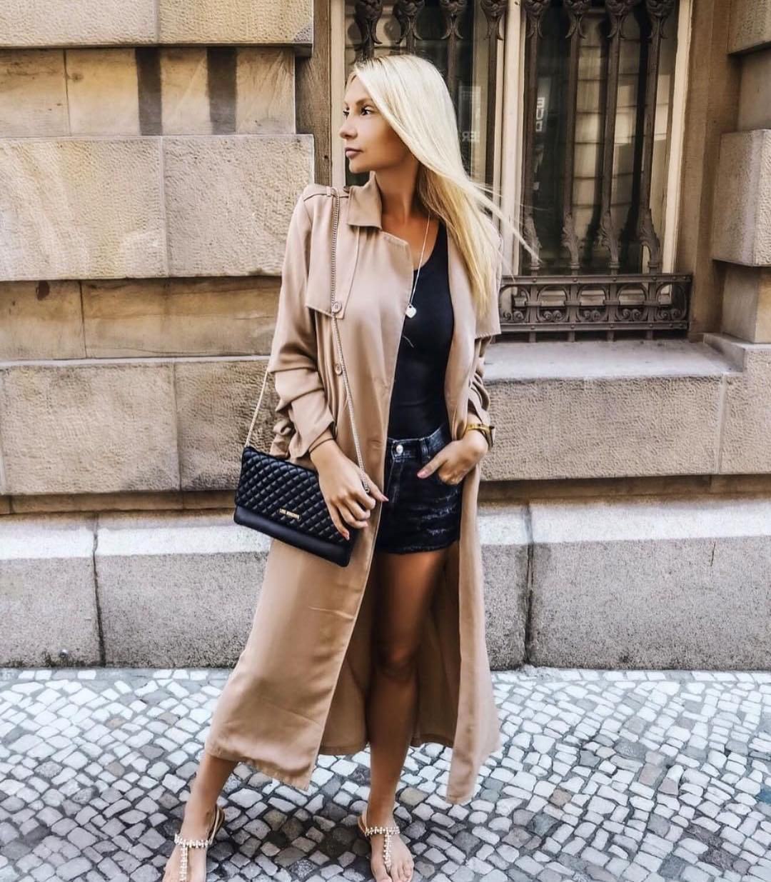 Maxi Trench Coat In Beige For Summer Chilly Days 2019