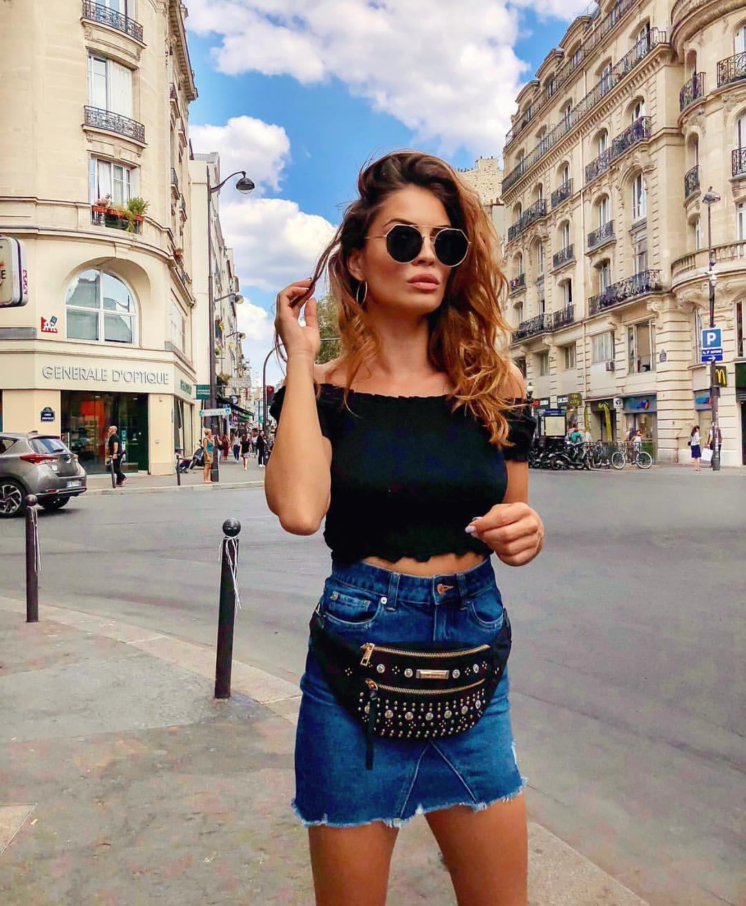 Can I Wear Belt Bag With Denim Skirt This Summer 2019