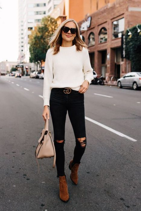 What To Wear With Black Ripped Jeans 2019